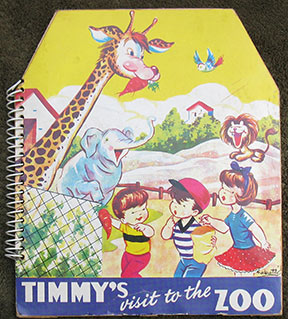 Image for Timmy's Visit to the Zoo.