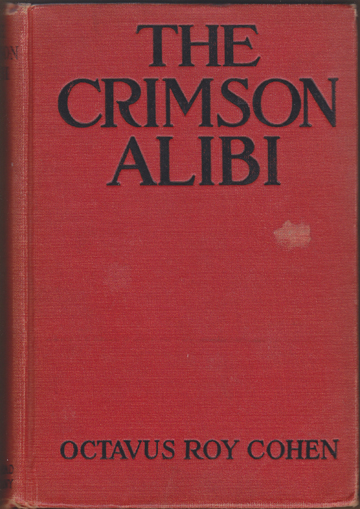 Image for The Crimson Alibi.