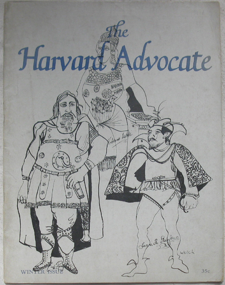 Image for The Harvard Advocate. Winter, 1947. Vol. CXXXI, No. 4.
