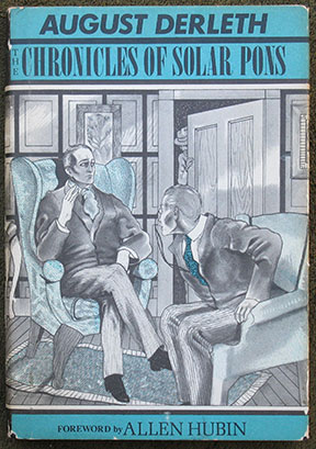 Image for The Chronicles of Solar Pons. with an Introduction by Allen J. Hubin.