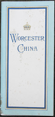 Image for A Guide Through the Worcester Royal Porcelain Works.
