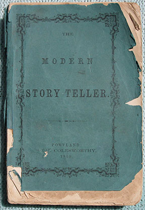 "Image for The Modern Story Teller: Or The Best Stories of the Best Authors, Now first Collected. (At the top of the title page: ""Putnam's Story Library"")."