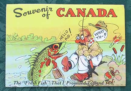 Image for Souvenir of Canada. The 'Fresh Fish' That I Promised To Send You.