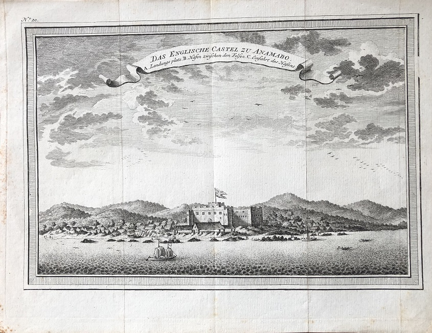 Image for Das Englische Castel zu Anamabo. [Fort William].
