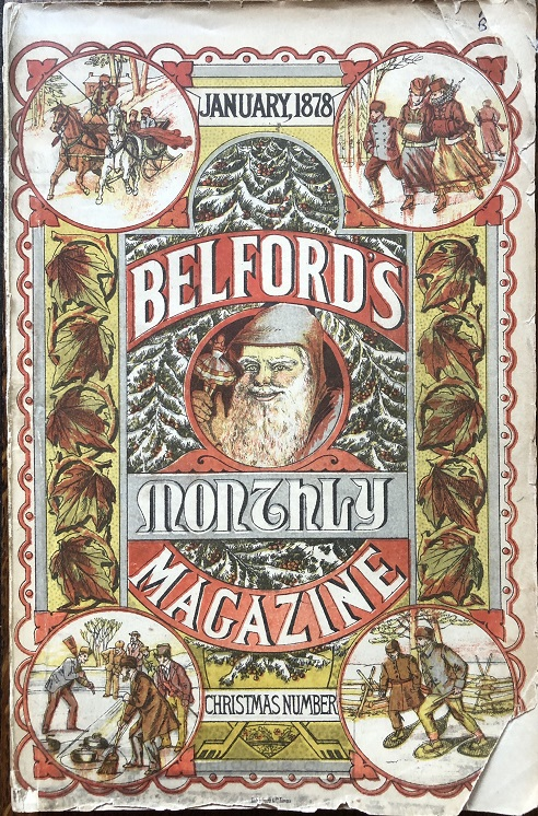 Image for Belford's Monthly Magazine. January, 1878. Christmas Number.