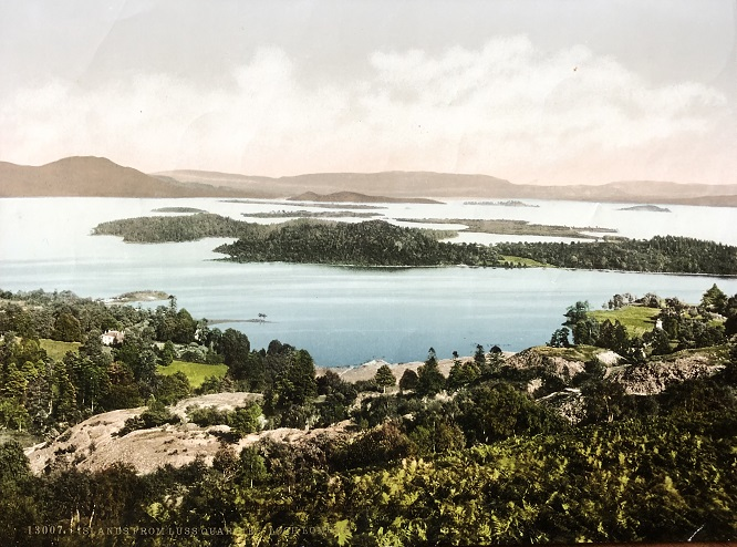 Image for Islands From Luss Quarries, Loch Lomond. 13007.