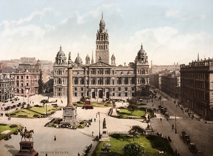 Image for Glasgow. George Square. 13175.