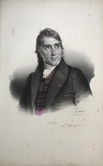 Image for GROS. [Portrait of Antoine-Jean Gros]