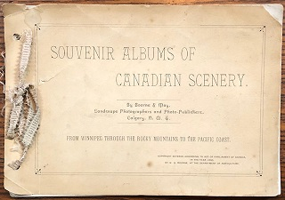 Image for Souvenir Albums of Canadian Scenery ... From Winnipeg Through the Rocky Mountains to The Pacific Coast.