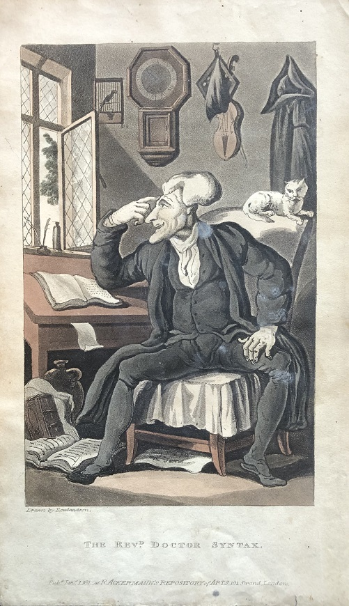 Image for The Revd. Doctor Syntax. [From: The Tour of Doctor Syntax In Search of the Picturesque. A Poem. 7th Edition with new Plates].