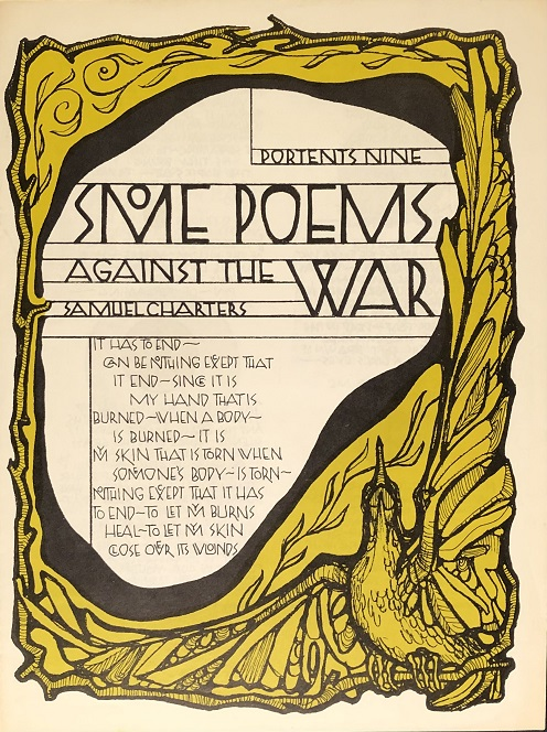 Image for Some Poems Against The War.