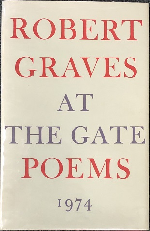 Image for At The Gate. Poems.